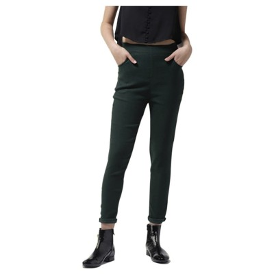 La Zoire Women Green Slim Fit Jeggings