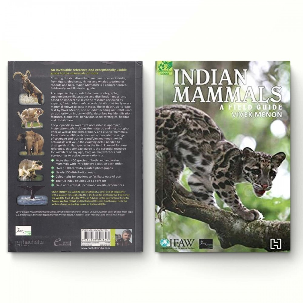 Indian Mammals - A Field Guide by Vivek Menon