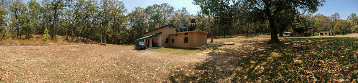 Sultan Forest lodge in Dhikala zone of corbett national park